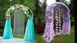 Wedding Arch Decor | Diy Wedding Arch Decoration Ideas | Arch Design | Wedding Arch