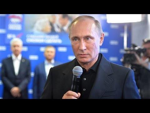 Putin Declares Victory