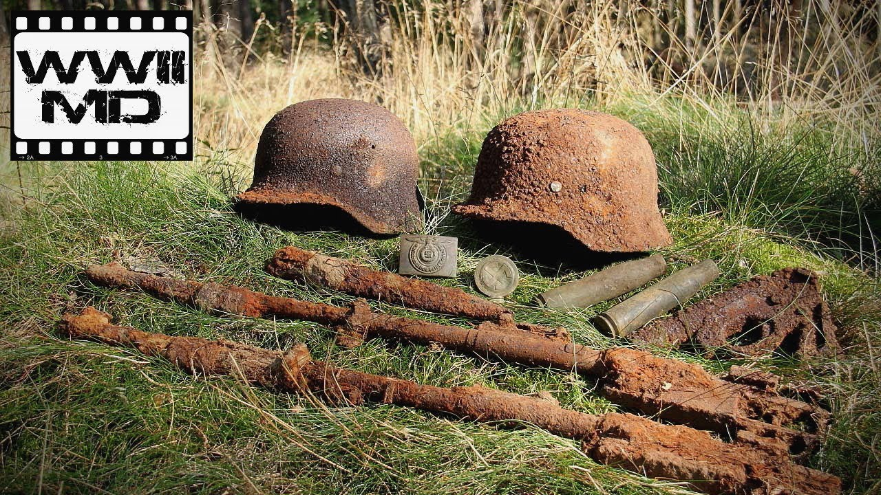 World War Ii Metal Detecting Battlefield Relic Hunting