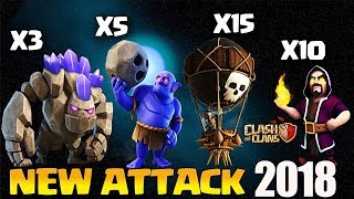 THIS ATTACK IS INSANE!? TH9 STRONG ATTACK STRATEGY 2018 GOBOLO | Clash of Clans