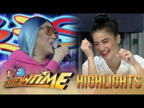 It's Showtime HypeBest: Vice Ganda would be happy to be stuck in an island with Anne