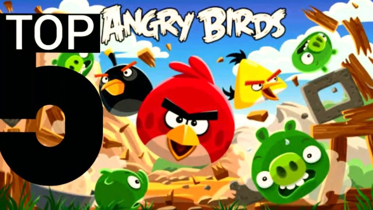 Top 5 Angry birds games for pc, PS4, Android & iOS in 2018 - YouTube