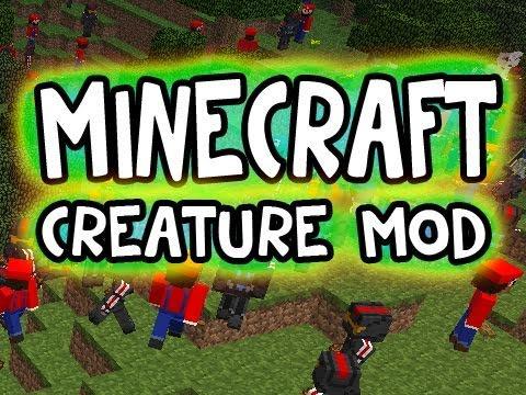 Minecraft Solo: THE CREATURE MOD W.I.P!! (1.6.6 Version)