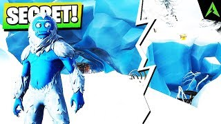 The Cave of Yeti * SECRETE * now in Fortnite..