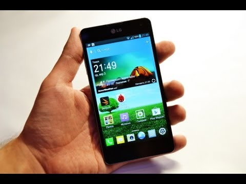 Обзор LG Optimus G (review): дизайн, ПО, тесты, игры, мнение