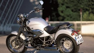 BMW R850C exhaust sound and acceleration compilation