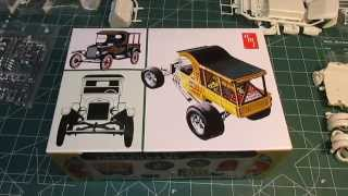 Amt '25 T Fruit Wagon 1/25th Scale Kit Open Box Review