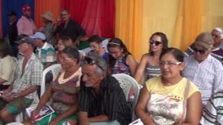 Joseane na festa dos 50 anos do Sindicato dos Trabalhadores Rurais de São João do Jaguaribe