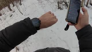 """""""Слизняк L5"""" - живой обзор смарт часов (без монтажа, с экшн камеры)"""