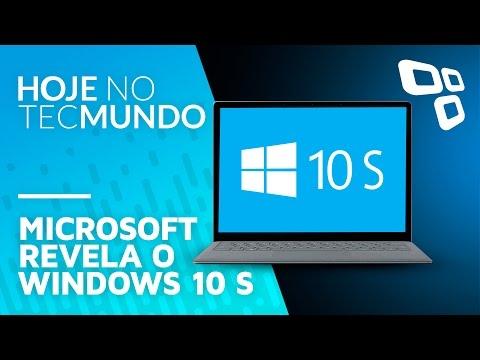 Microsoft revela o Windows 10 S - Hoje no TecMundo