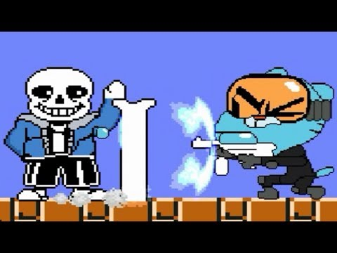 Sans' Payback time...Funny Gumball vs. MUGEN Characters Yet Again!