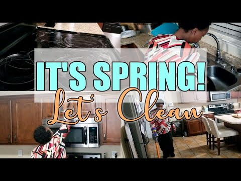 2020 SPRING CLEAN WITH ME| WORKING MOM CLEANING MOTIVATION