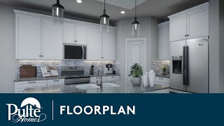New Homes by Pulte Homes – Saguaro Floor Plan