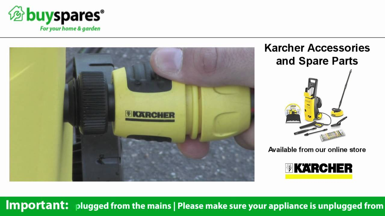 How To Get Started With Your New Karcher Pressure Washer