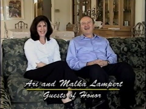 A Tribute to Mr. and Mrs. Ari Lampert - 18th Annual Dinner
