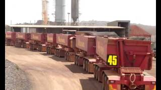 World Biggest Dump Truck has 7 Super Size Trailers
