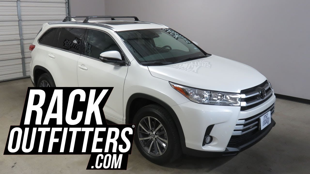 Toyota Highlander With Rhino Rack Rsp31 Roof Rack