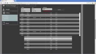Sws ipad epos back office software reports demonstration