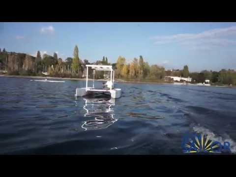 SunSailor - the unique solar boat