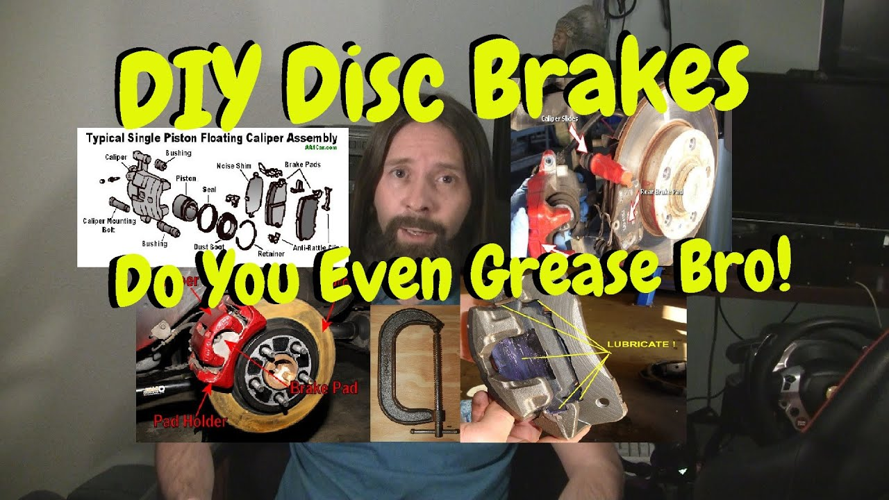 When To Replace Brake Pads >> DIY Replace Disc Brake Pads. Don't Forget The Grease ...