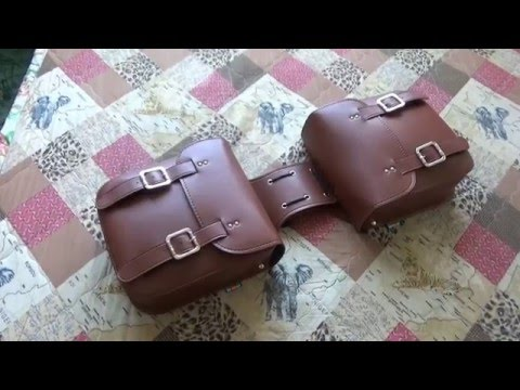 Кофры на мотоцикл с Aли Экспресс. Saddlebags From Ali Express.