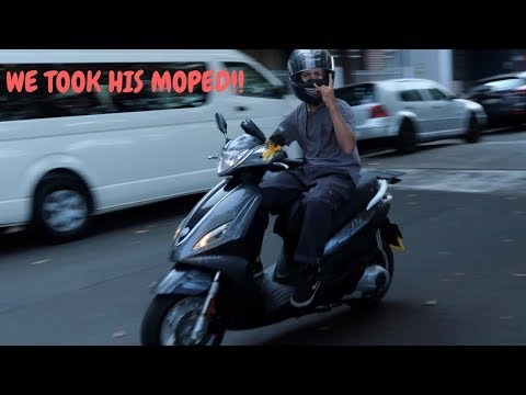 RIDING JACK DAUTHS MOPED!?!