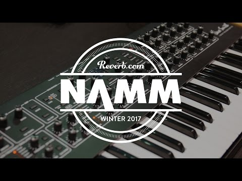 Dave Smith Instruments REV2 and the Pioneer Toraiz AS-1 at NAMM 2017