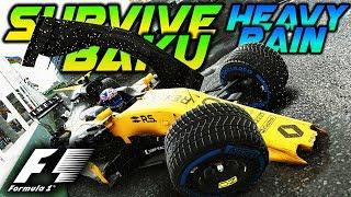 SURVIVE BAKU IN HEAVY RAIN - Extreme Damage Mod F1 Game