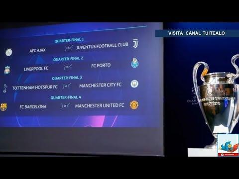 Así quedan los partidos de Cuartos de Final de la Champions League ...