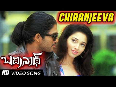 Chiranjeeva Full Video Song | Badrinath Movie | Allu Arjun, Tamanna