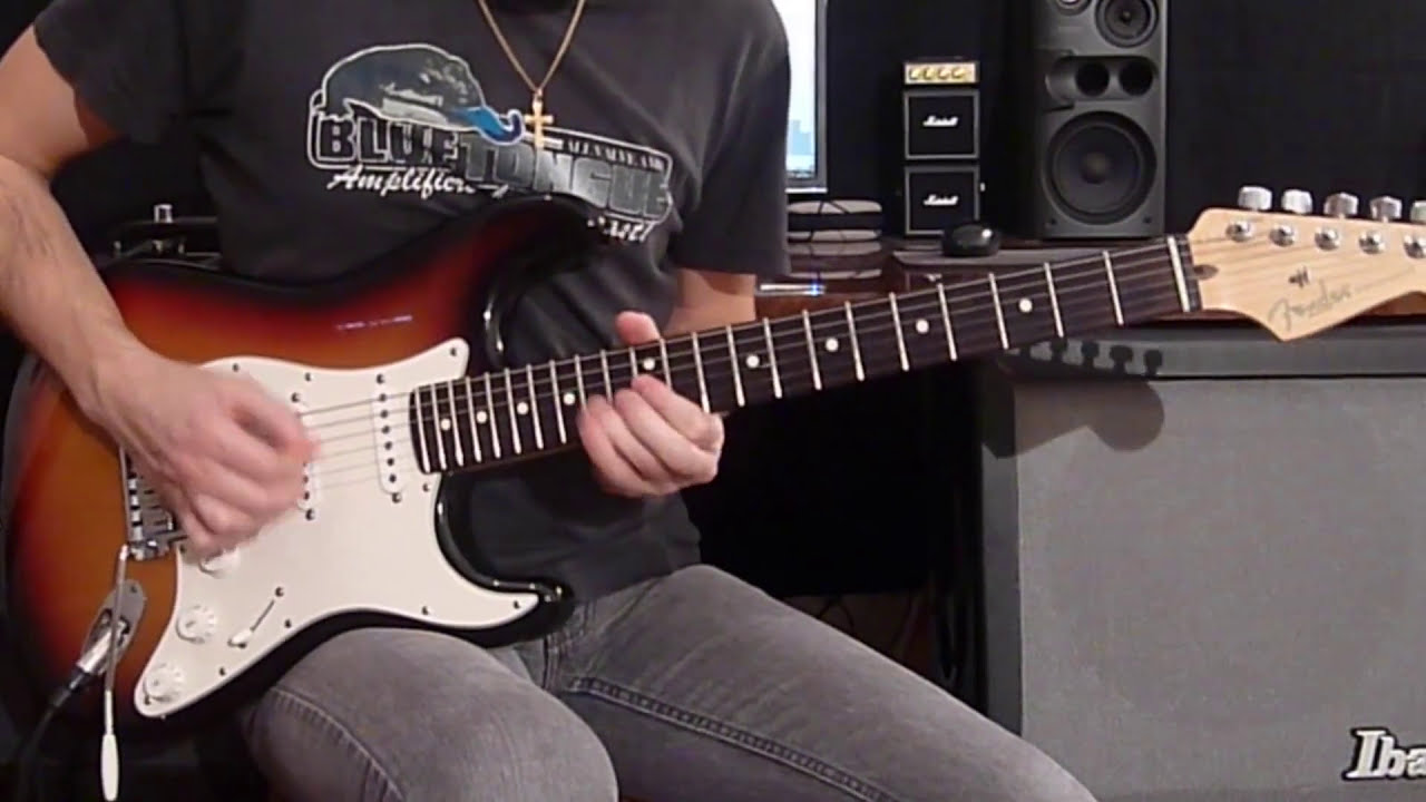 Joe Satriani - Cryin' (Guitar Tutorial) - YouTube