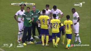 أيالا النصر يضيع ركلة جزاء ليسجل هدف رائع يسقط أهلي عبد الشافي - الأهلي.كوم