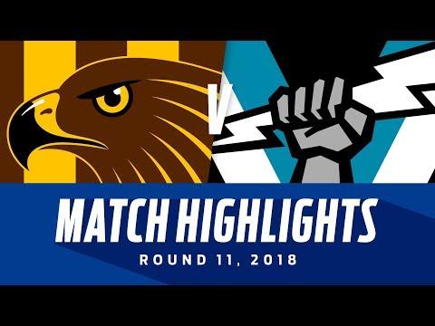 Hawthorn v Port Adelaide Highlights | Round 11, 2018 | AFL