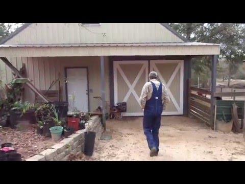 Barn Tour on the Homestead