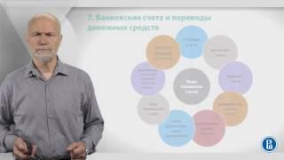 Курс лекций по банковской системе. Лекция 7: Банковские счета
