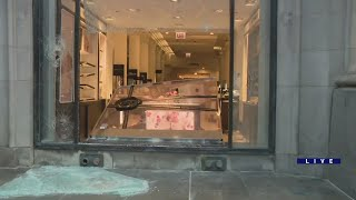 Chicago businesses begin cleaning up after night of riots