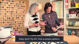 10 Tips For Great Baby Quilts From Marianne Fons