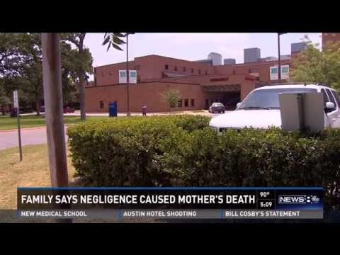 Negligence caused mother's death