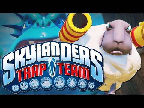 SKYLANDERS TRAP TEAM | Exclusive Gameplay!