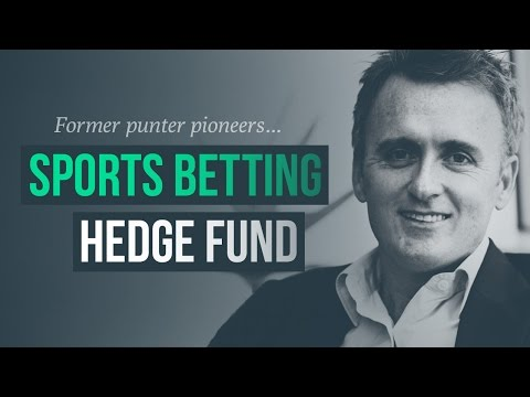 Former punter pioneers sports betting hedge fund · Brendan P