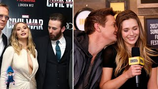 Elizabeth Olsen Being THIRSTED Over By Avengers!