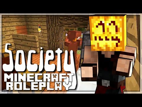 Wer hat Angst vorm Kürbis Mann? | #06 Minecraft Society | Balui | Minecraft Roleplay