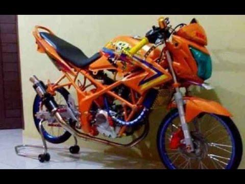 Cah Gagah Video Modifikasi Motor Honda Cb150r Drag Racing