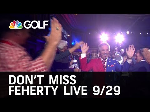 Don't Miss Feherty Live Tonight at 9PM ET   Golf Channel
