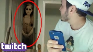 Top 5 Twitch Streamers WHO CAUGHT GHOSTS ON STREAM! (Twitch Live Stream Ghost Sightings) thumbnail