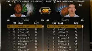 NBA 2K13 My Team - Suggestions for 2K14, All Star Team Opponent