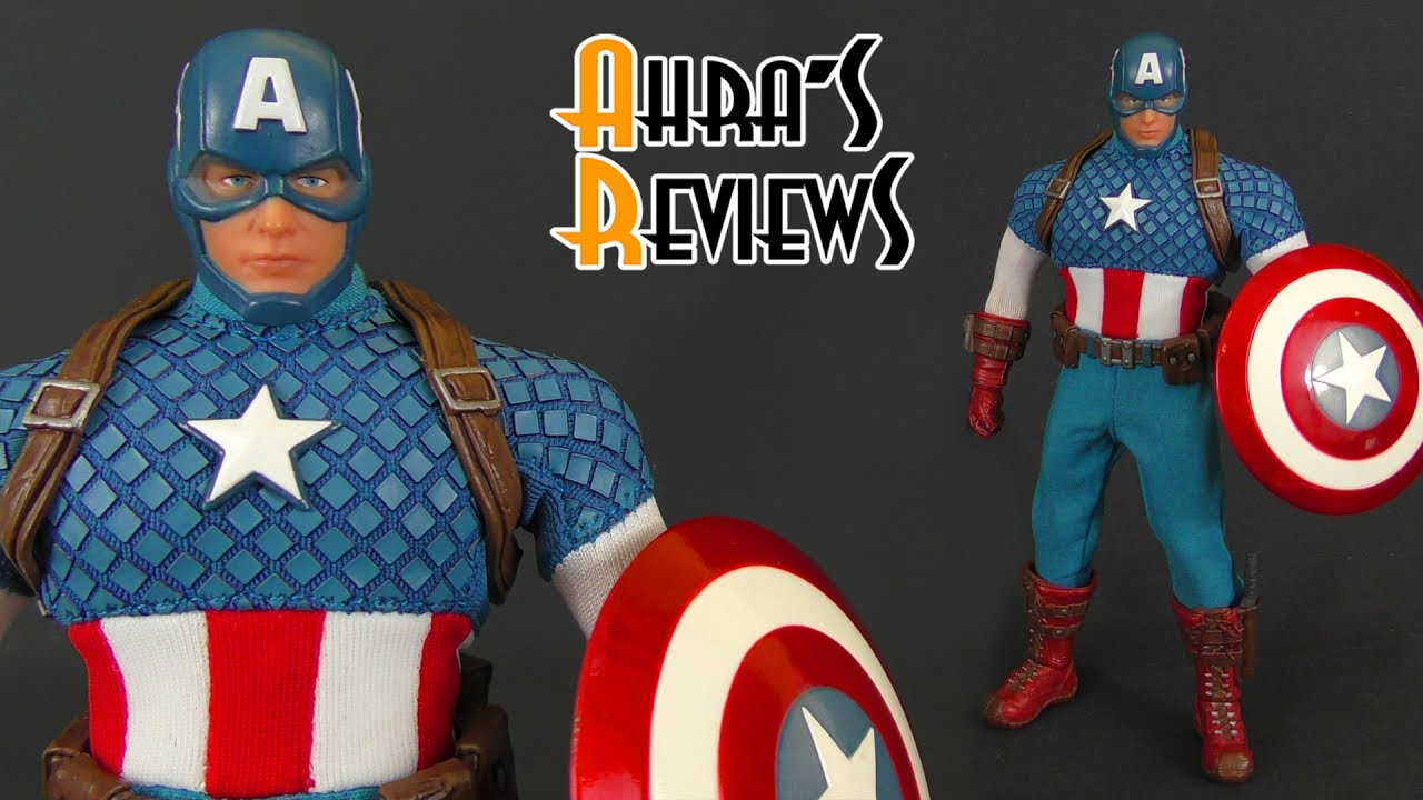 Mezco One:12 Collectif Capitaine Marvel action figure