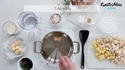 GastroMax™-resepti: Maa-artisokkakeitto ja krassisalaatti