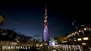 Burj Khalifa's New Year's Eve LED show