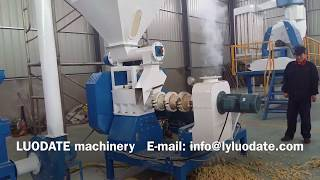 Feed extruder machine (raw material: maize, soybean etc.)